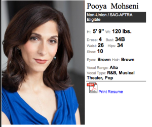 Pooya Mohseni as Olivia