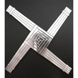 This is the St. Brigid cross. It figures heavily in the play -- a motif in chrome
